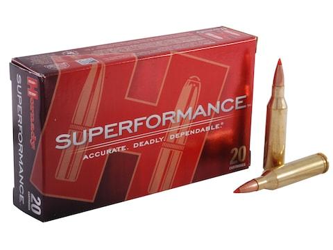 Hornady Superformance SST Ammunition 243 Winchester 95 Grain SST Box of 20