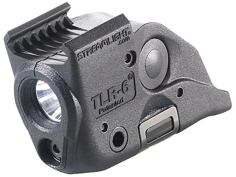 Streamlight TLR-6 Rail S&W M&P Weapon Light LED and Red Laser Polymer Black