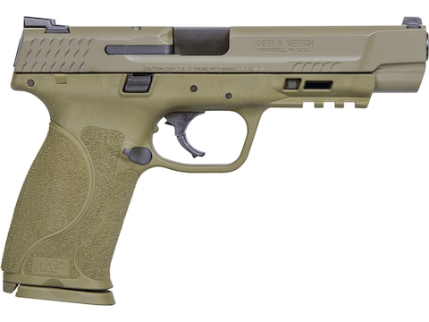"Smith & Wesson M&P9 M2.0 Pistol 9mm Luger 5"" Barrel 17-Round Flat Dark Earth"