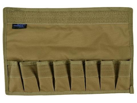 California Competition Works 8 Pistol Magazine Storage Pouch Nylon