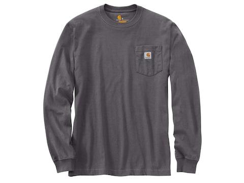 Carhartt Men's Workwear Pocket Long Sleeve T-Shirt Cotton