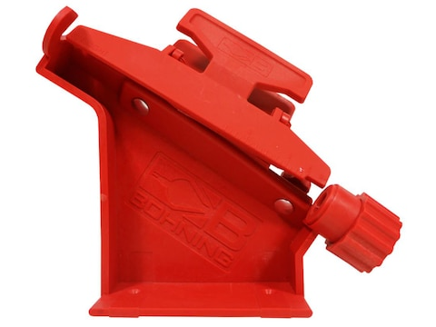 Bohning Pro Class Arrow Fletching Jig with Straight Clamp Polymer Red