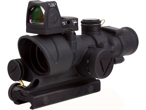 Trijicon ACOG Rifle Scope 4x 32mm LED Illuminated Red Crosshair 223 Remington Reticle w...