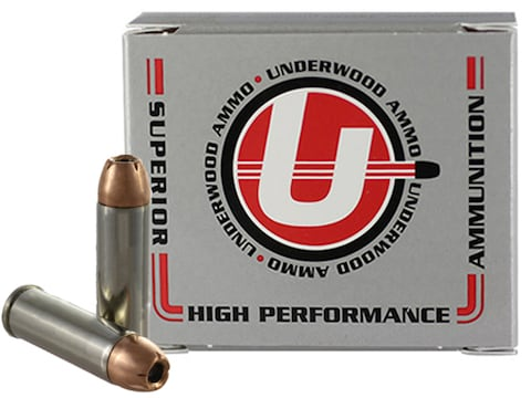 Underwood Ammunition 454 Casull 240 Grain Hornady XTP Jacketed Hollow Point Box of 20