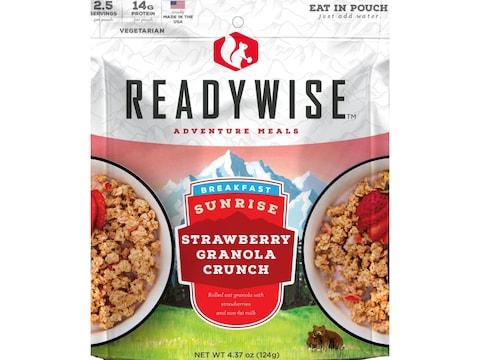 ReadyWise Sunrise Strawberry Granola Crunch Freeze Dried Food