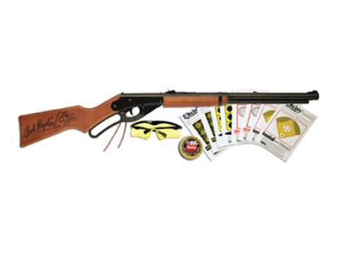 Daisy 1938 Red Ryder Youth Lever Action 177 Caliber BB Air Rifle Combo