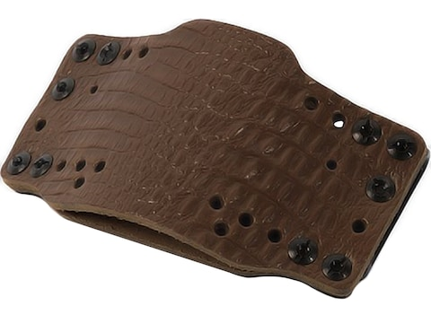 Limbsaver Cross-Tech Holster Clip On Ambidextrous Compact Universal Fit Leather Brown