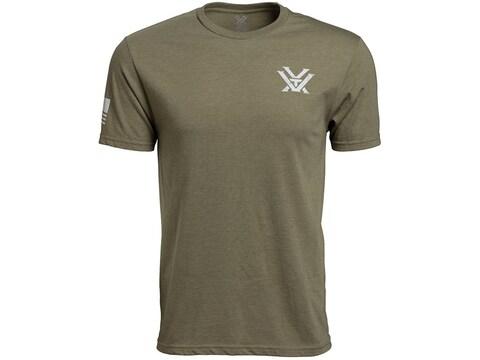 Vortex Optics Men's Patriot Short Sleeve T-Shirt Cotton