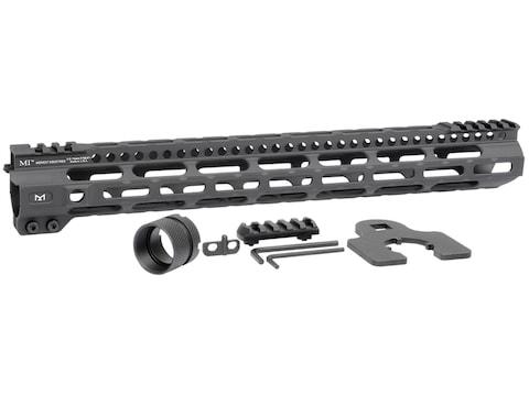 Midwest Industries Light Weight Free Float M-Lok Handguard AR-15 Aluminum Black