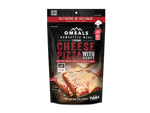OMEALS Cheese Pizza Self Heating Meal