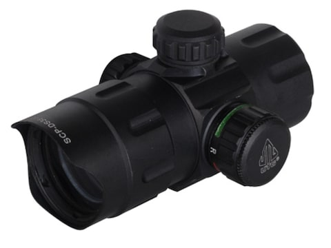 UTG Red Dot Sight 38mm Tube 1x 4 MOA Red and Green Dot with Low and Medium Quick Detach...