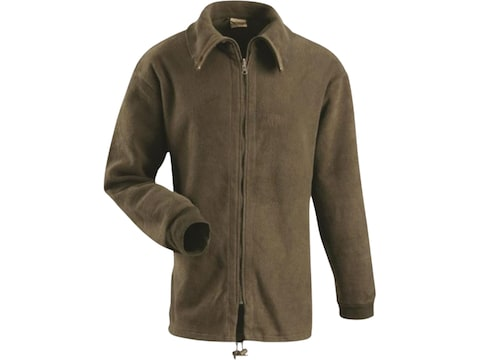 Military Surplus Belgium Fleece Jacket Olive Drab