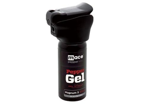 Mace Brand Night Defender Gel Pepper Spray 45 Gram Aerosol Integrated LED Light 10% OC ...