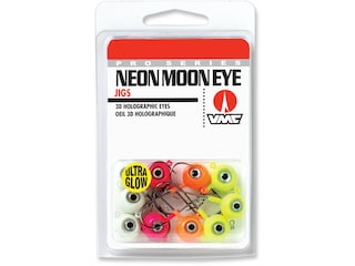 VMC Neon Moon Eye Jig Glow Kit 3/8 Assorted