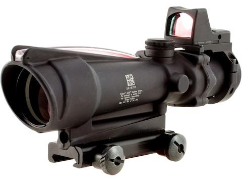 Trijicon ACOG Rifle Scope 3.5x 35mm Dual-Illuminated Red Crosshair 223 Remington Reticl...