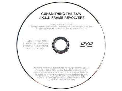 "Gun Video ""Gunsmithing the S&W J, K, L, N-Frame Revolvers"" by Jerry Kuhnhausen DVD"