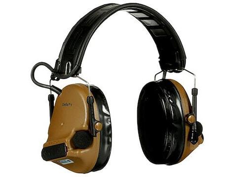 Peltor ComTac V Hearing Defender Electronic Earmuffs (NRR 20)