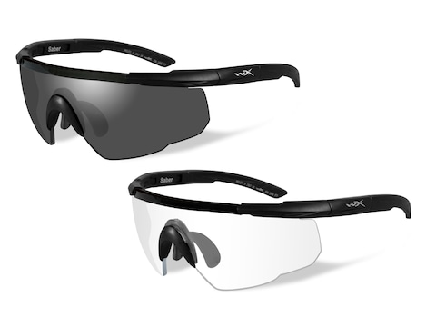Wiley X Saber Advanced Changeable Series Shooting Glasses