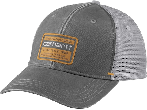Carhartt Men's Canvas Mesh-Back Quality Graphic Cap