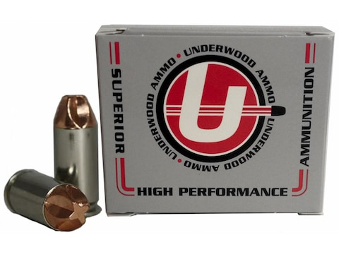 Underwood Xtreme Defender Ammunition 40 S&W 100 Grain Lehigh Xtreme Defense Lead-Free B...