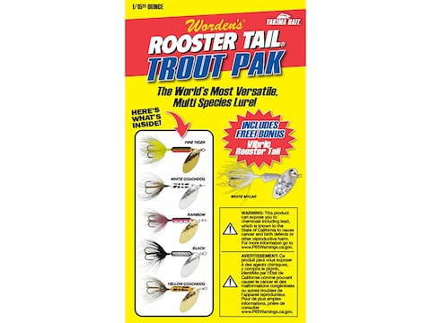 Worden's Rooster Tail Box Kit