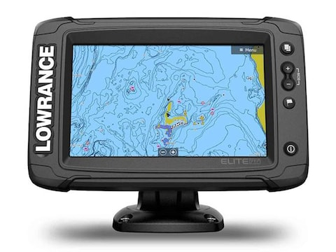 Lowrance Elite-7 Ti2 Fish Finder HDI Transducer US Inland Maps
