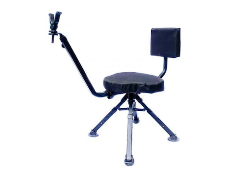 BenchMaster Four Leg Ground Blind Shooting Chair Rest