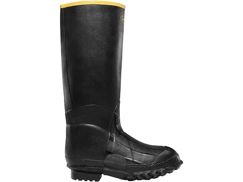 "LaCrosse ZXT 16"" Insulated Knee Boots Rubber Black Men's"