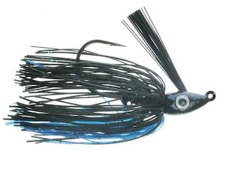 Nichols Lures Saber Swim Jig Black and Blue 1/4oz