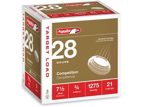 "Aguila High Velocity Ammunition 28 Gauge 2-3/4"""