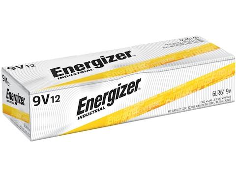 Energizer Battery EN22 Industrial 9 Volt Alkaline Pack of 12