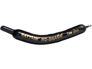 Lindy Rattlin' No Snagg Slip Sinker 1/4oz Lead Black 2Pk