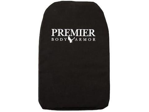 Premier Body Armor 10x15 Level IIIA Backpack Panel Black