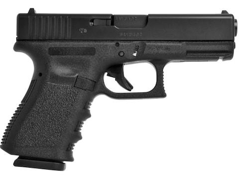 Glock 19 Gen 3 Pistol 9mm Luger Fixed Sights Polymer Black