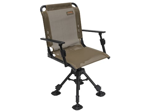 ALPS Outdoorz Stealth Hunter Deluxe 360 Swivel Chair Brown