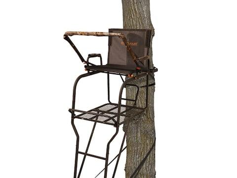 Big Game Hunter HD 1.5 Man 19' Ladder Treestand Steel