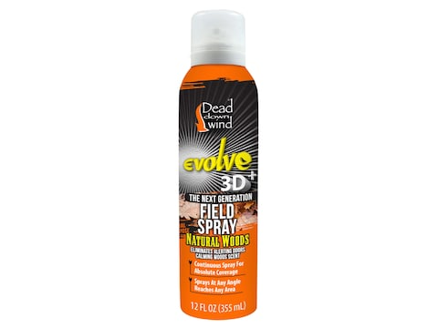 Dead Down Wind Scent Elimination Continuous Field Spray Natural Woods Scent 12 oz