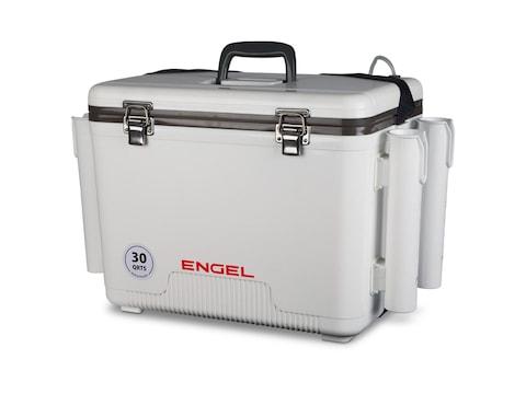 Engel 30 Quart Live Bait Cooler With Rod Holders