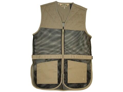 Bob Allen 245M Mesh Back Shooting Vest Ambidextrous Cotton
