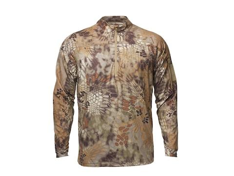 Kryptek Men's Valhalla 1/4 Zip Long Sleeve Shirt