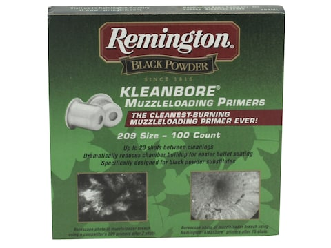 Remington Primers #209 Muzzleloading Box of 100