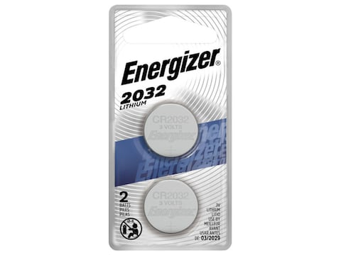 Energizer Battery CR2032 3 Volt Lithium Pack of 2