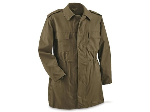 Military Surplus Czech M85 Unlined Parka