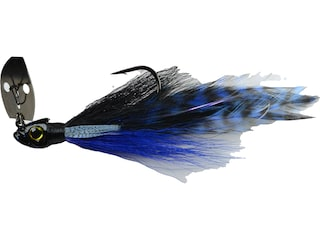 Picasso Aaron Martens Special FX Shock Blade Bladed Jig Black/Blue 3/8 oz