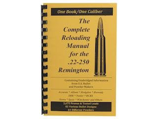 Loadbooks USA 22-250 Remington Reloading Manual