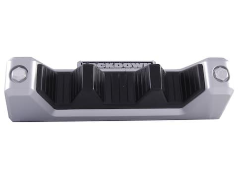 Lockdown 3 Gun Magnetic Barrel Rack Polymer Gray and Black