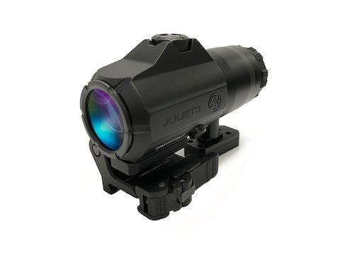 Sig Sauer JULIET3 3x 24mm Magnifier Powercam Quick-Release Mount with Spacers Black