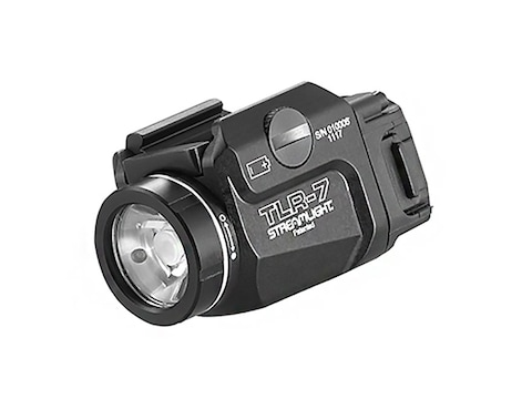 Streamlight TLR-7 Weapon Light White LED fits Picatinny or Glock-Style Rails Aluminum M...