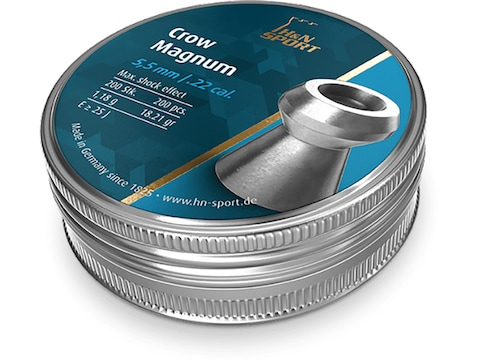 H&N Crow Magnum Airgun Pellets Hollow Point