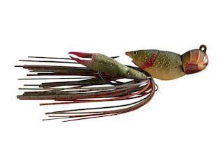 LIVETARGET Crawfish Jig Brown/Red 3/8 oz